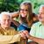 Family Visiting Sick Grandmother in Nursing Home stock photo © Lighthunter