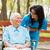 看護 · 話し · 高齢者 · 女性 · 車いす · 幸せ - ストックフォト © lighthunter