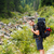 utazó · férfi · természetjáró · hátizsák · utazás · hegyek - stock fotó © Lighthunter