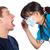 checking throat stock photo © lighthunter