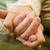 ajuda · mãos · mulher · jovem · senior · mão - foto stock © Lighthunter