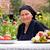 jedzenie · Sałatka · diety · odżywianie · kobieta - zdjęcia stock © lighthunter
