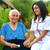 医師 · 病気 · 女性 · 屋外 · 小さな · 看護 - ストックフォト © lighthunter