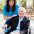 especial · cuidar · facilidade · idoso · médico · enfermeira - foto stock © lighthunter