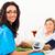 血圧 · 看護 · 高齢者 · ホーム · 女性 - ストックフォト © Lighthunter