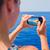 océanos · hermosa · niña · paisajes · buque - foto stock © lighthunter