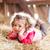 mooie · weinig · kind · krulhaar · meisje · glimlach - stockfoto © Lighthunter