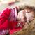 slapen · schoonheid · meisje · glimlachend · haren · jonge - stockfoto © Lighthunter