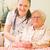 пациент · медицинской · кровать · стороны · медсестры - Сток-фото © lighthunter
