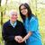 kind senior lady with nurse stock photo © lighthunter