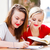 groep · glimlachend · tieners · huiswerk · vergadering · bibliotheek - stockfoto © lighthunter