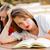 para · cima · estudar · jovem · estudante · aprendizagem · mulher - foto stock © lighthunter