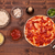 pizza · salsa · di · pomodoro · top · view · ingredienti - foto d'archivio © lightkeeper