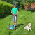 boy cutting grass in the summer yard stock photo © lightkeeper