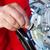 механиком · машинное · масло · уровень · автомобилей · службе · ремонта - Сток-фото © lightkeeper