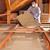 uomo · isolamento · legno · ponteggi · lavoro - foto d'archivio © lightkeeper