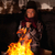 arme · bedelaar · kind · omhoog · brand · tin - stockfoto © lightkeeper
