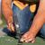 pracownika · ręce · dachu · młotek - zdjęcia stock © lightkeeper