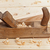 Wooden workbench, plane and shavings stock photo © lightkeeper