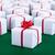 présente · blanche · coffrets · cadeaux · vert · surface · rouge - photo stock © lightkeeper