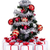 faible · arbre · de · noël · présente · blanche · coffrets · cadeaux · boîte - photo stock © lightkeeper