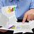 biznesmen · pracy · sprawozdanie · wykresy - zdjęcia stock © lightkeeper