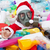 Toxic christmas - santa drowning in plastic bottles stock photo © lightkeeper