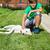 jongen · jonge · labrador · retriever · hond · vers · glimlach - stockfoto © lightkeeper