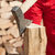 részlet · férfi · tapsolás · tűzifa · közelkép · fa - stock fotó © lightkeeper