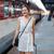 espera · tren · joven · mujer - foto stock © lightpoet