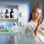 retrato · femenino · investigador · investigación · laboratorio - foto stock © lightpoet