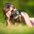 kadın · resim · açık · havada · güzel · bir · kadın · analog - stok fotoğraf © lightpoet