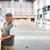 férfi · vásárol · építkezés · fa · csináld · magad · bolt - stock fotó © lightpoet