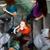 studenten · omhoog · beneden · drukke · mooie - stockfoto © lightpoet