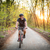 senior man on his mountain bike outdoors stock photo © lightpoet