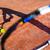 テニス · 赤 · 粘土 · テニスボール · 表面 · 広場 - ストックフォト © lightpoet