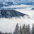 kék · ég · felhők · hegyek · gyönyörű · fehér · égbolt - stock fotó © lightpoet