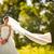 wedding · preparazione · abito · da · sposa · moda · corpo · help - foto d'archivio © lightpoet