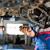 inside a garage   changing wheelstires stock photo © lightpoet