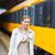 bastante · estación · de · ferrocarril · color · imagen · ciudad - foto stock © lightpoet