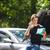 człowiek · wzywając · wsparcie · samochodu · podziale · w · dół - zdjęcia stock © lightpoet