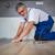 barna · padló · deszkák · közelkép · ház · ceruza - stock fotó © lightpoet
