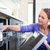 работа · по · дому · блюд · посудомоечная · машина · дома · девушки - Сток-фото © lightpoet