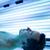 bello · giovane · rilassante · abbronzatura · moderno · solarium - foto d'archivio © lightpoet