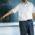 profesor · senalando · ojo · de · pez · tiro · hombre · escuela - foto stock © lightpoet