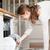 trabalhos · domésticos · mulher · jovem · pratos · lava-louças · casa · menina - foto stock © lightpoet