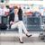 mujer · sesión · espera · oficina · tecnología · diversión - foto stock © lightpoet