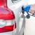 benzinkút · pumpa · tömés · gázolaj · zöld · autó - stock fotó © lightpoet