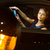 ppretty young woman driving her modern car at night in a city stock photo © lightpoet