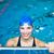 female swimmer in an indoor swimming pool stock photo © lightpoet